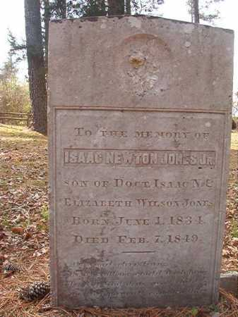 JONES, JR, ISAAC NEWTON - Hempstead County, Arkansas | ISAAC NEWTON JONES, JR - Arkansas Gravestone Photos
