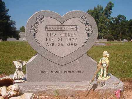 KEENEY, LISA - Hempstead County, Arkansas | LISA KEENEY - Arkansas Gravestone Photos