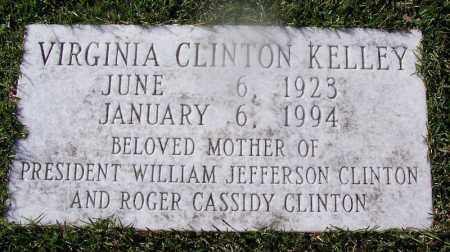 CLINTON, VIRGINIA - Hempstead County, Arkansas | VIRGINIA CLINTON - Arkansas Gravestone Photos