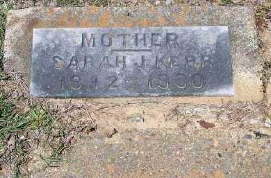 KERR, SARAH J - Hempstead County, Arkansas | SARAH J KERR - Arkansas Gravestone Photos