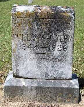 KERR, WILLIAM J - Hempstead County, Arkansas | WILLIAM J KERR - Arkansas Gravestone Photos