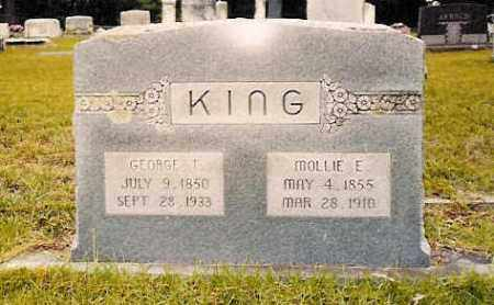 "KING, MARY ELIZABETH ""MOLLIE"" - Hempstead County, Arkansas 