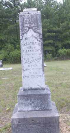 CURTIS LAFFERTY, MARTHA ANN - Hempstead County, Arkansas | MARTHA ANN CURTIS LAFFERTY - Arkansas Gravestone Photos