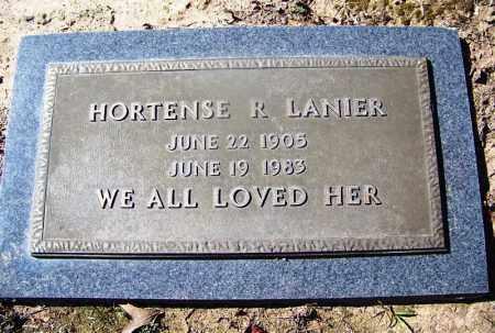 LANIER, HORTENSE R - Hempstead County, Arkansas | HORTENSE R LANIER - Arkansas Gravestone Photos