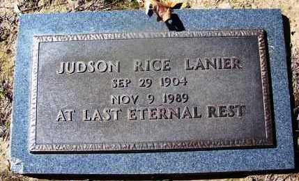 LANIER, JUDSON RICE - Hempstead County, Arkansas | JUDSON RICE LANIER - Arkansas Gravestone Photos