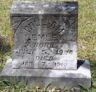 LEMLEY, WILLIAM - Hempstead County, Arkansas   WILLIAM LEMLEY - Arkansas Gravestone Photos