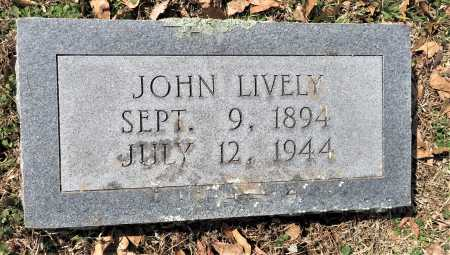 LIVELY, JOHN - Hempstead County, Arkansas | JOHN LIVELY - Arkansas Gravestone Photos