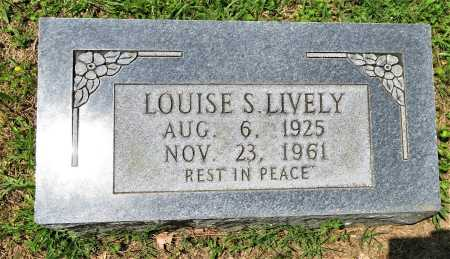 LIVELY, LOUISE S - Hempstead County, Arkansas | LOUISE S LIVELY - Arkansas Gravestone Photos