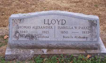 LLOYD, ISABELLA W - Hempstead County, Arkansas | ISABELLA W LLOYD - Arkansas Gravestone Photos