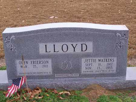 LLOYD, JETTIE - Hempstead County, Arkansas | JETTIE LLOYD - Arkansas Gravestone Photos