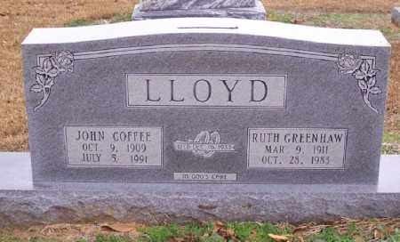 GREENHAW LLOYD, RUTH - Hempstead County, Arkansas | RUTH GREENHAW LLOYD - Arkansas Gravestone Photos