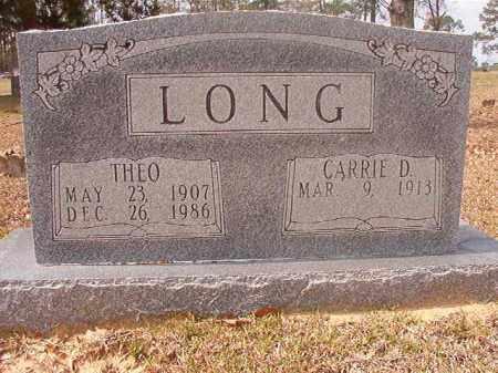 LONG, THEO - Hempstead County, Arkansas | THEO LONG - Arkansas Gravestone Photos