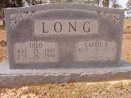 LONG, THEO - Hempstead County, Arkansas | THEO LONG - Arkansas Gravestone Photos