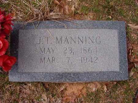 MANNING, J T - Hempstead County, Arkansas | J T MANNING - Arkansas Gravestone Photos
