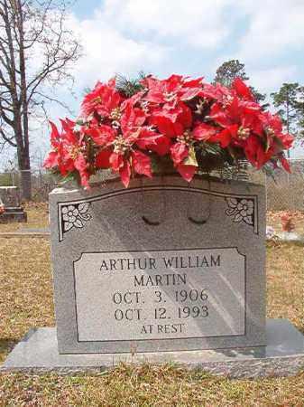 MARTIN, ARTHUR WILLIAM - Hempstead County, Arkansas | ARTHUR WILLIAM MARTIN - Arkansas Gravestone Photos