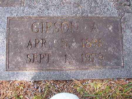 MARTIN, GIPSON A (CLOSE UP) - Hempstead County, Arkansas | GIPSON A (CLOSE UP) MARTIN - Arkansas Gravestone Photos