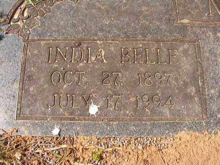 MARTIN, INDIA BELLE (CLOSE UP) - Hempstead County, Arkansas | INDIA BELLE (CLOSE UP) MARTIN - Arkansas Gravestone Photos