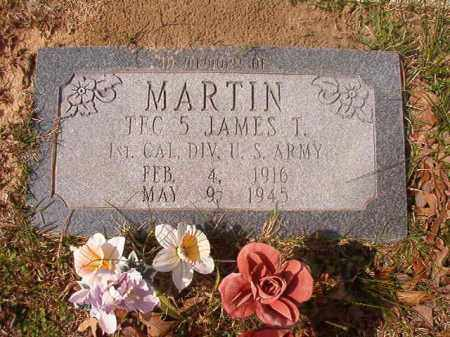 MARTIN (VETERAN), JAMES T - Hempstead County, Arkansas | JAMES T MARTIN (VETERAN) - Arkansas Gravestone Photos
