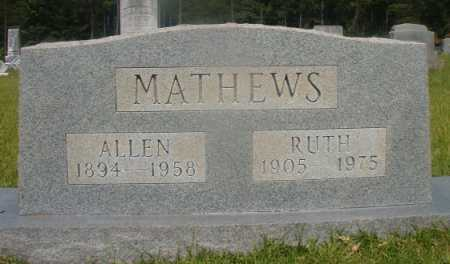 MATHEWS, ALLEN - Hempstead County, Arkansas | ALLEN MATHEWS - Arkansas Gravestone Photos