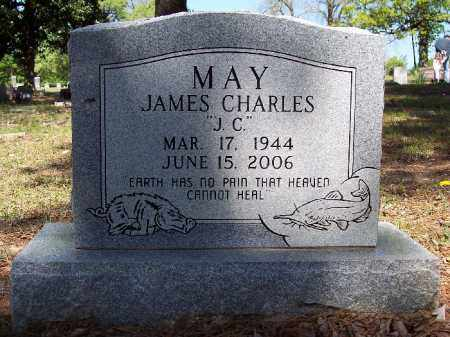 "MAY, JAMES CHARLES ""J C"" - Hempstead County, Arkansas 