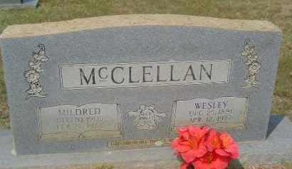 MCCLELLAN, MILDRED - Hempstead County, Arkansas | MILDRED MCCLELLAN - Arkansas Gravestone Photos