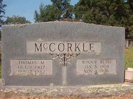 MCCORKLE, WINNIE RUTH - Hempstead County, Arkansas | WINNIE RUTH MCCORKLE - Arkansas Gravestone Photos