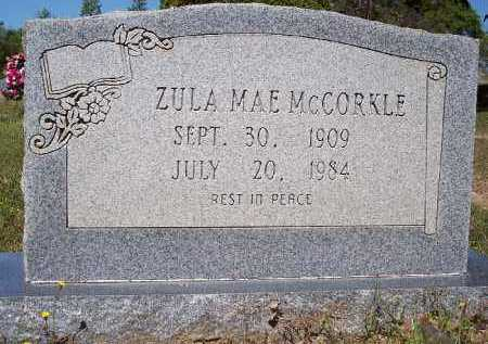 MCCORKLE, ZULA MAE - Hempstead County, Arkansas | ZULA MAE MCCORKLE - Arkansas Gravestone Photos