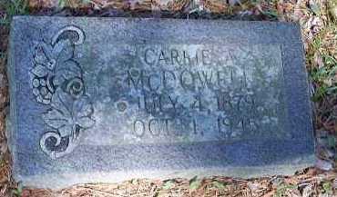 MCDOWELL, CARRIE A - Hempstead County, Arkansas | CARRIE A MCDOWELL - Arkansas Gravestone Photos
