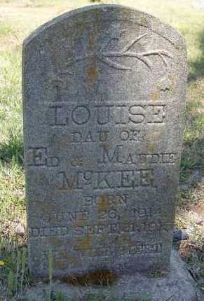 MCKEE, LOUISE - Hempstead County, Arkansas | LOUISE MCKEE - Arkansas Gravestone Photos