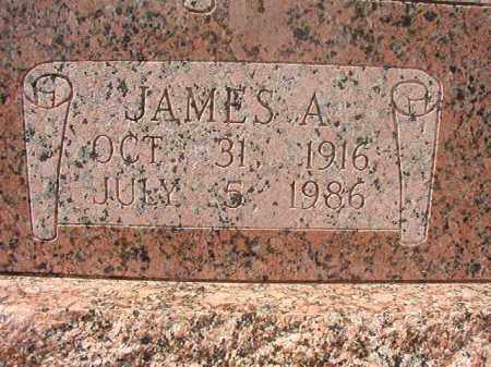 MCKILLOP, JAMES A CLOSE UP) - Hempstead County, Arkansas | JAMES A CLOSE UP) MCKILLOP - Arkansas Gravestone Photos