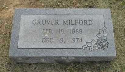 MILFORD, GROVER - Hempstead County, Arkansas | GROVER MILFORD - Arkansas Gravestone Photos