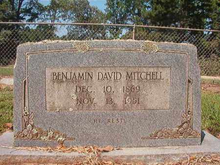 MITCHELL, BENJAMIN DAVID - Hempstead County, Arkansas | BENJAMIN DAVID MITCHELL - Arkansas Gravestone Photos