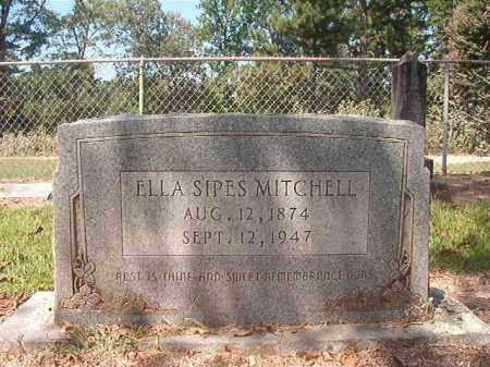 SIPES MITCHELL, ELLA - Hempstead County, Arkansas | ELLA SIPES MITCHELL - Arkansas Gravestone Photos