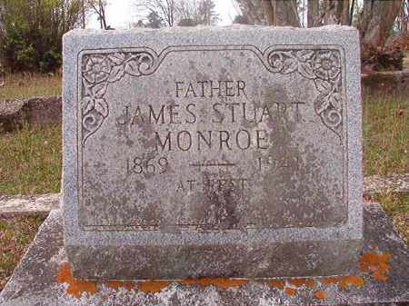 MONROE, JAMES STUART - Hempstead County, Arkansas | JAMES STUART MONROE - Arkansas Gravestone Photos
