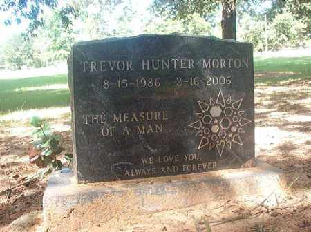 MORTON, TREVOR HUNTER - Hempstead County, Arkansas | TREVOR HUNTER MORTON - Arkansas Gravestone Photos