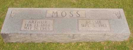 MOSS, ARTHUR - Hempstead County, Arkansas | ARTHUR MOSS - Arkansas Gravestone Photos