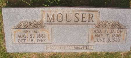 TATOM MOUSER, ADA F - Hempstead County, Arkansas | ADA F TATOM MOUSER - Arkansas Gravestone Photos