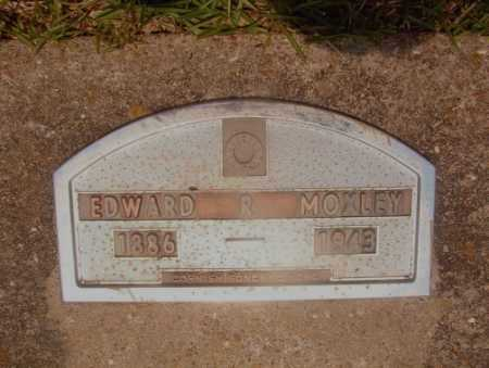 MOXLEY, EDWARD R - Hempstead County, Arkansas | EDWARD R MOXLEY - Arkansas Gravestone Photos