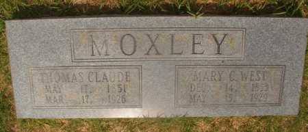 WEST MOXLEY, MARY C - Hempstead County, Arkansas | MARY C WEST MOXLEY - Arkansas Gravestone Photos
