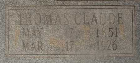 MOXLEY, THOMAS CLAUDE (CLOSEUP) - Hempstead County, Arkansas | THOMAS CLAUDE (CLOSEUP) MOXLEY - Arkansas Gravestone Photos