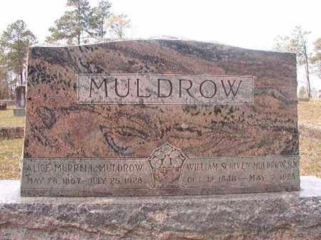 MURRELL MULDROW, ALICE - Hempstead County, Arkansas | ALICE MURRELL MULDROW - Arkansas Gravestone Photos