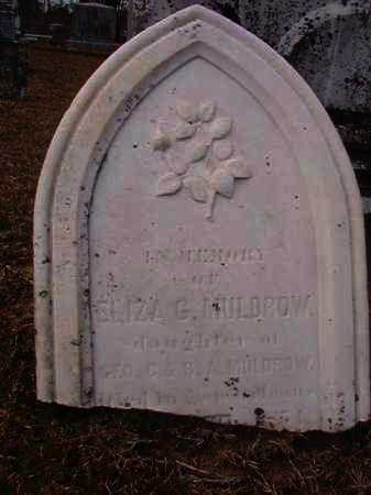 MULDROW, ELIZA G - Hempstead County, Arkansas | ELIZA G MULDROW - Arkansas Gravestone Photos