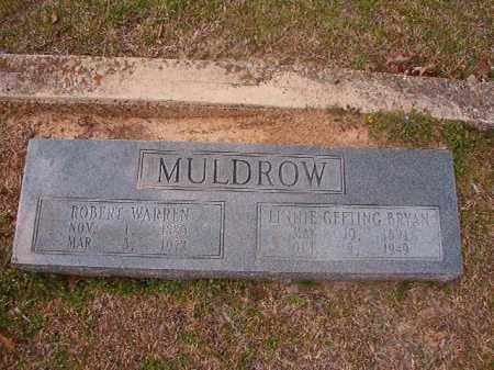 MULDROW, ROBERT WARREN - Hempstead County, Arkansas | ROBERT WARREN MULDROW - Arkansas Gravestone Photos