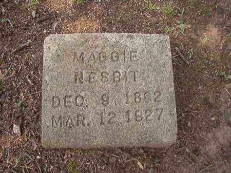 NESBIT, MAGGIE - Hempstead County, Arkansas | MAGGIE NESBIT - Arkansas Gravestone Photos