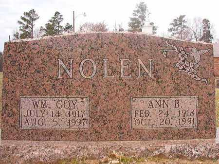 NOLEN, WILLIAM COY - Hempstead County, Arkansas | WILLIAM COY NOLEN - Arkansas Gravestone Photos