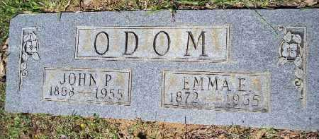 ODOM, EMMA E - Hempstead County, Arkansas | EMMA E ODOM - Arkansas Gravestone Photos