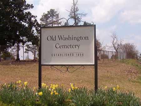 *OLD WASHINGTON CEMETERY,  - Hempstead County, Arkansas    *OLD WASHINGTON CEMETERY - Arkansas Gravestone Photos