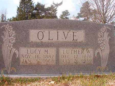 OLIVE, LUCY M - Hempstead County, Arkansas | LUCY M OLIVE - Arkansas Gravestone Photos