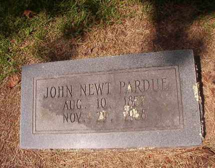PARDUE, JOHN NEWT - Hempstead County, Arkansas | JOHN NEWT PARDUE - Arkansas Gravestone Photos