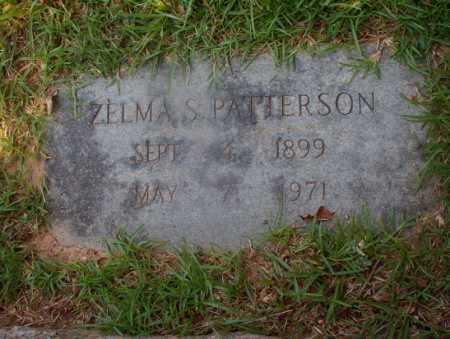 PATTERSON, ZELMA S - Hempstead County, Arkansas | ZELMA S PATTERSON - Arkansas Gravestone Photos